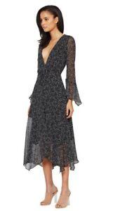 977c4c266150  Bec and Bridge Stargazer Midi Dress Black Size AU 8/UK 4 Stars ...