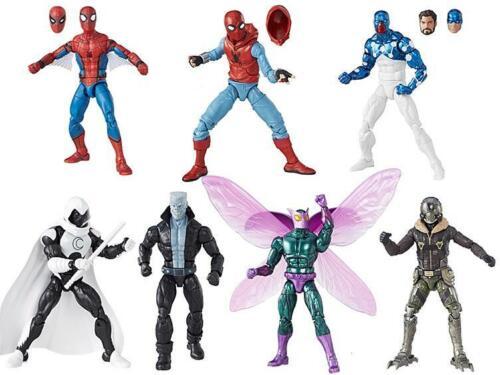 "Set de 7 Vautour Aile BAF Marvel Legends 6/"" SPIDER-MAN WAVE 8"