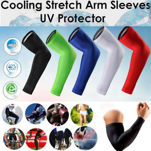 Compression-Elbow-Support-Thigh-Arm-Sleeve-Brace-Anti-Sun-UV-for-Basketball-ICE