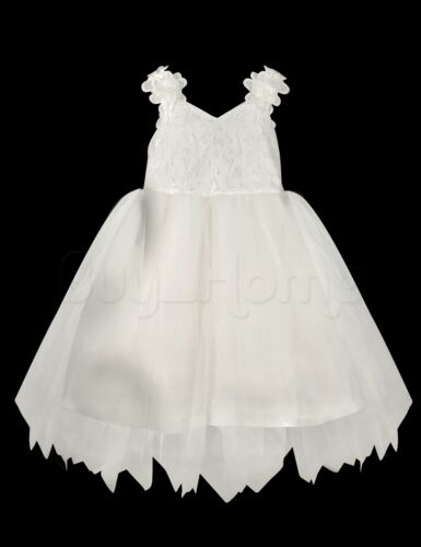 Flower Girl Princess Dress Wedding Birthday Party Pageant Dance Formal Dresses