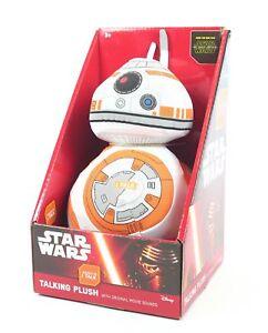 STAR-WARS-medium-plush-talking-BB-8-droid-8-034-soft-toy-cuddly-Force-Awakens-NEW