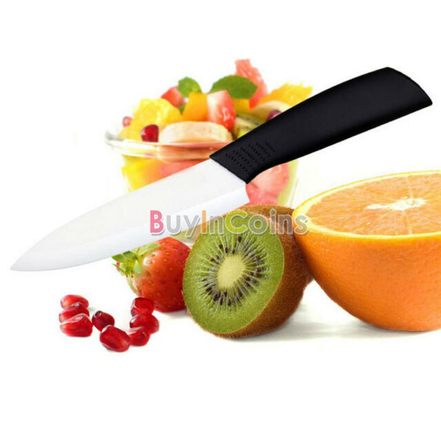 "Ceramic Knife Peeler Pottery Parer Home Kitchen 3"" 4"" 5"" 6"" Knives Cutlery BYUS"