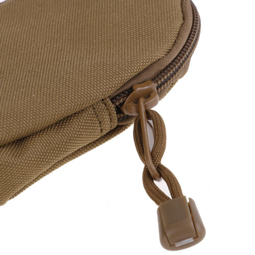 EDC Key Wallets Holder Coin Purses Pouch Military Pocket Keychain Case Outd oE