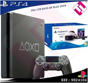 DAYS OF PLAY PS4 1TB 2019 PLAYSTATION 4 EDICION LIMITADA + PACK GAFAS VR CAMARA
