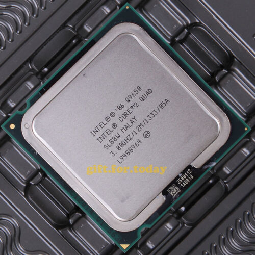 Original Intel Core 2 Quad Q9650 3 GHz Quad-Core (BX80569Q9650) Processor CPU