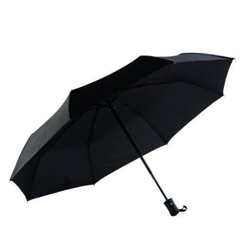 Automatic Business Compact Travel Tri-Fold Umbrella Waterproof Windproof Unbreak