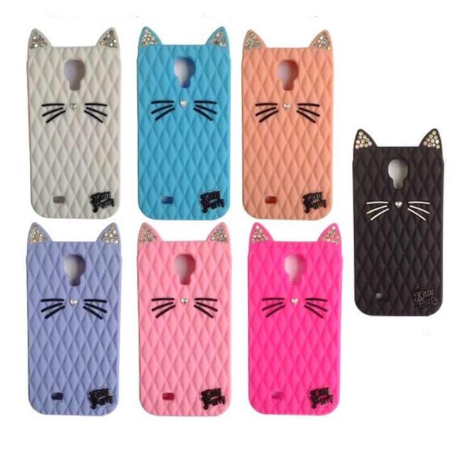 New Crystal Katy Perry Fruit Cat Kitty Purry Soft case For Samsung s4 s5 Note 4