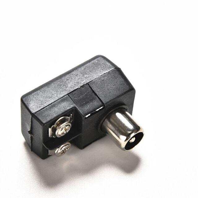 Connector Antenna Matching Transformer Balun75 300ohm IEC TV PAL Male AdapteTO№a