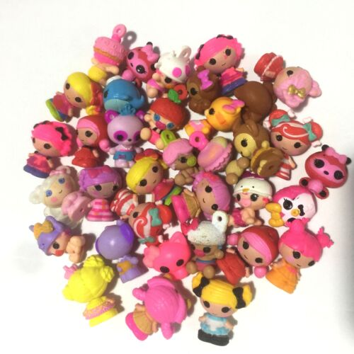 Lot 10Pcs Lalaloopsy MGA Dolls Mini Figure Cute Doll cake topper Toys Random