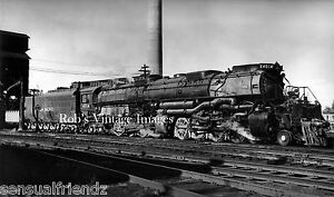 Union-Pacific-Photo-BIG-Boy-Steam-Locomotive-4014-Railroad-print-UP-train