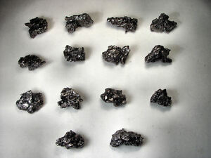 DEALER LOT QUALITY SMALL SIZE NEW CAMPO METEORITE SHATTERED CRYSTALS 125 GM