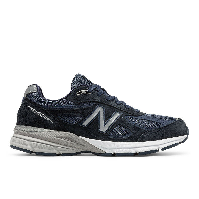 New Balance M990NV4: Men's Running Navy Sneaker