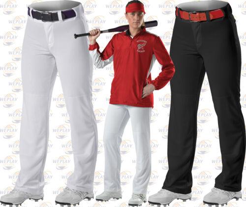 Alleson femme fond ouvert fastpitch Softball Pantalon 605 wlpw noir ou blanc