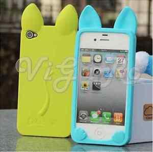 Cover-Case-Orecchie-Gatto-Cat-Gel-Silicone-Bumper-Per-iPhone-4-4s-5-5s-5c-6-plus