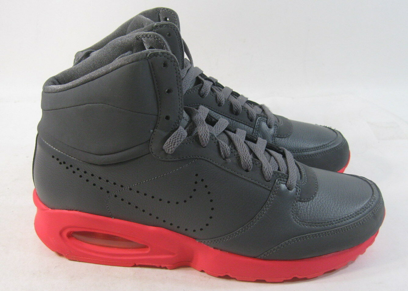 Nike Air Maximas Dark Grey Solar Red Price reduction Deadstock Comfortable Cheap women's shoes women's shoes