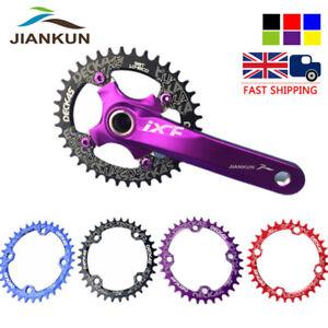 UK-DECKAS-104bcd-32-52T-Narrow-Wide-Aluminum-Crankset-MTB-Bike-Crank-Chainring
