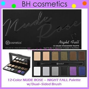 BH Cosmetics Nude Rose 12 Colour Eyeshadow Palette 100