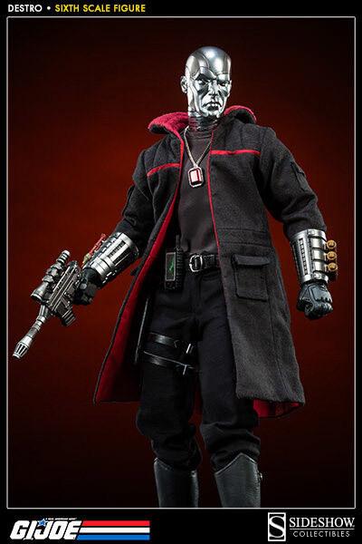 Sideshow Personaggio 1/6 Destro - G.I. Joe - 32 CM