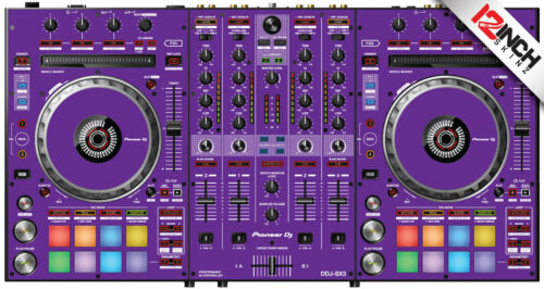 Pioneer DDJ-SX3 Skin Purple