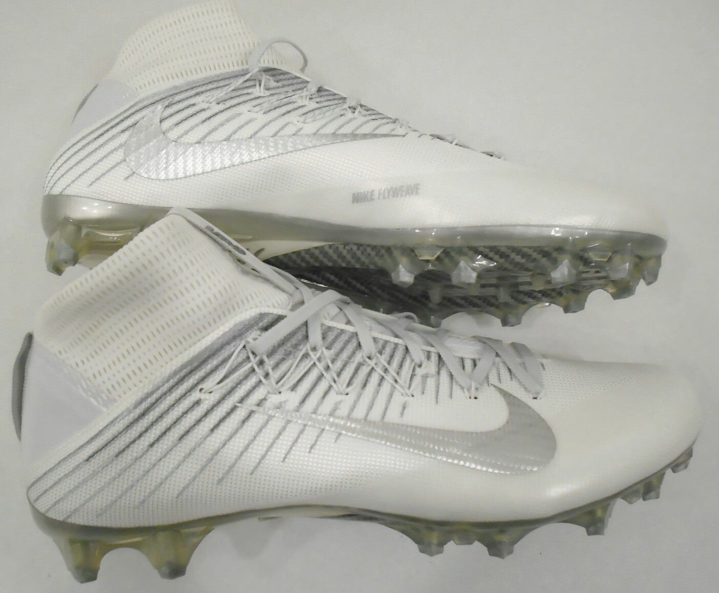 NEW Nike Mens 15 Nike Vapor Untouchable 2 VPR Football Cleats White 824470-100