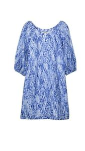 Gorgeous-Country-Road-PRINT-PUFF-SLEEVE-DRESS-Sz-16-Fits-14-BNWT-RRP-179