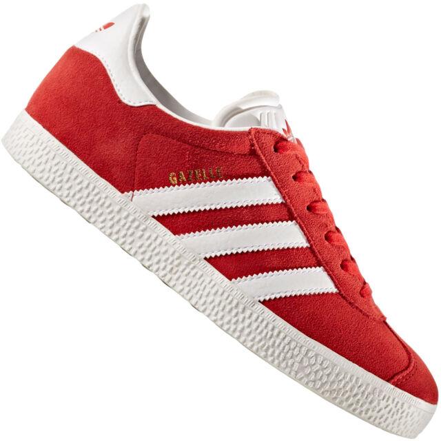 castillo casual Frustración  adidas Originals Gazelle Ladies- & Kids SNEAKERS Casual Shoes Trainers  Scarlet By9543 EUR 37 (uk 4 5) for sale online | eBay