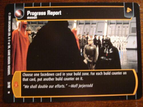 Star Wars TCG ROTJ Progress Report
