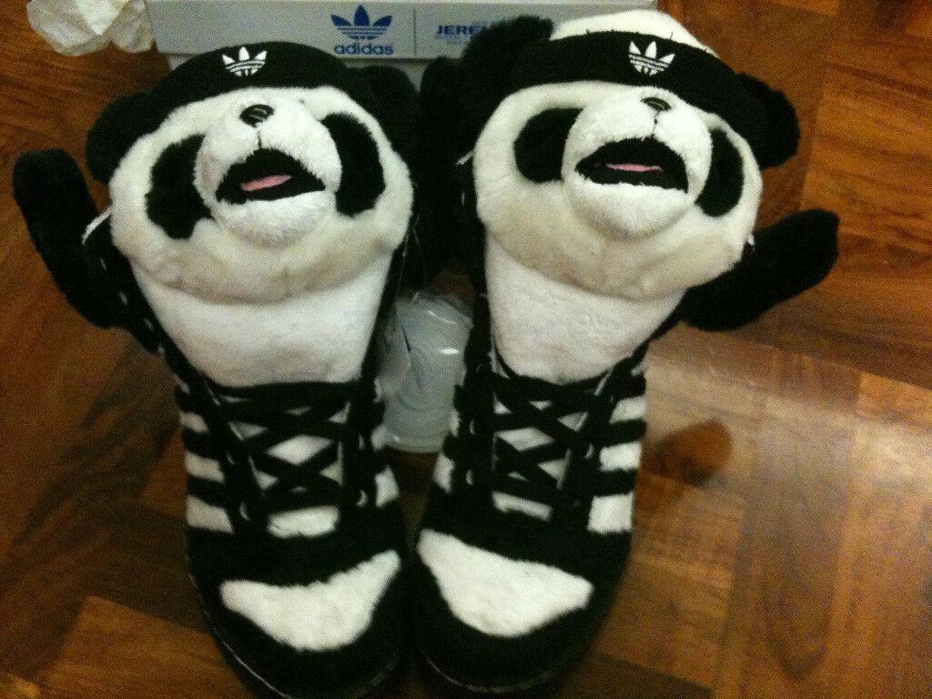 Adidas Original Jeremy Scott Panda Bear Mag Supreme 10, dunk Force sz9, 10, Supreme 11, 11.5 a6b67e