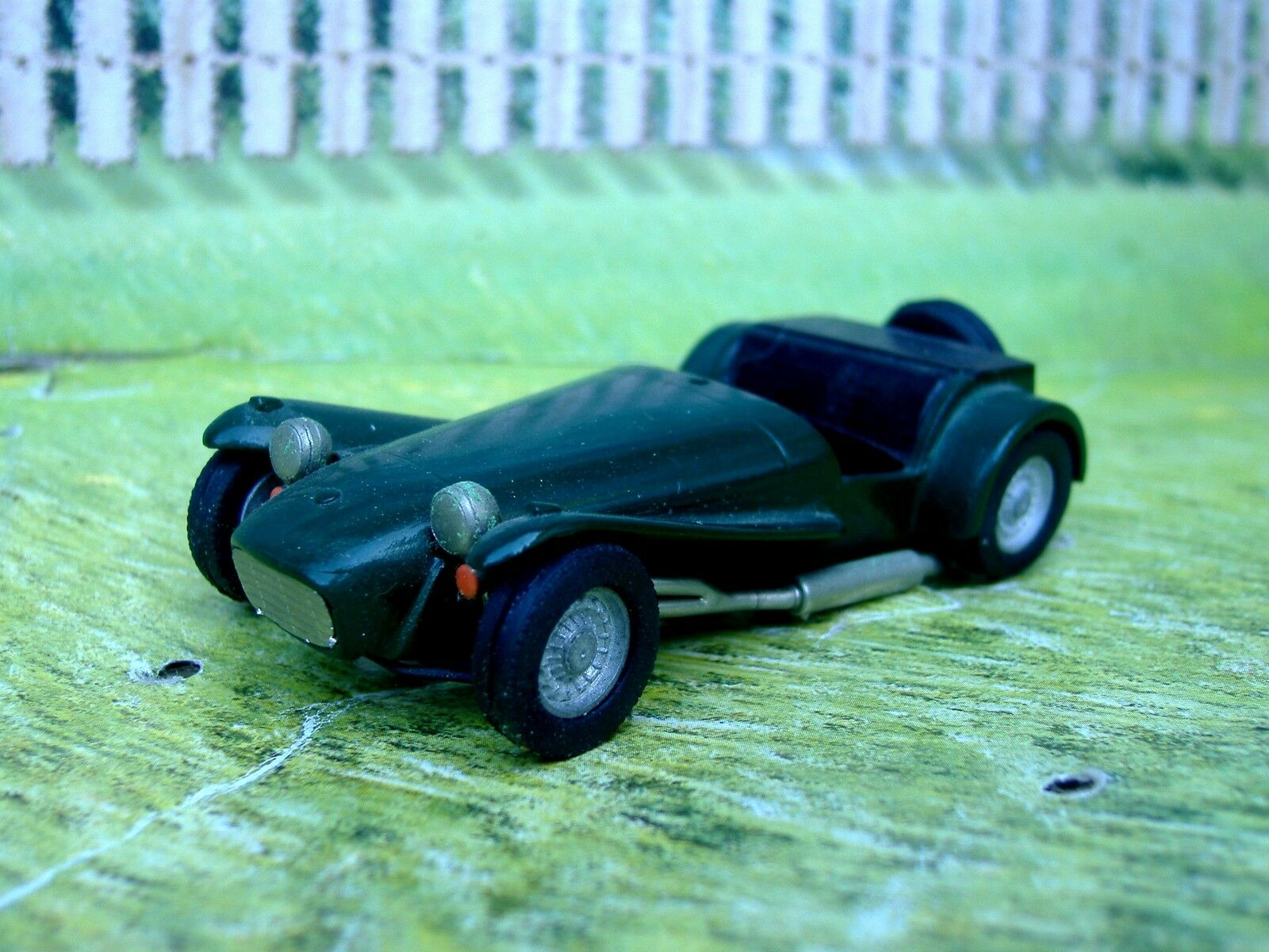 1   43 - nachbildungen (england) lotus super handgefertigte weißen metall - modell car kit