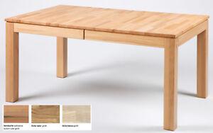 standard furniture grado esstisch massiv ausziehbar holztisch zum ausziehen ebay. Black Bedroom Furniture Sets. Home Design Ideas