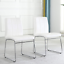 thumbnail 2 - Dining Chairs Faux Leather Dining Room Chairs Home Kitchen Chairs 2/4/6/8 Pcs