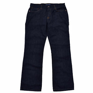 Tommy-Hilfiger-Mens-Jeans-Bootcut-Denim-Pants-Dark-Rinsed-Bottoms-Nwt-Logo-New