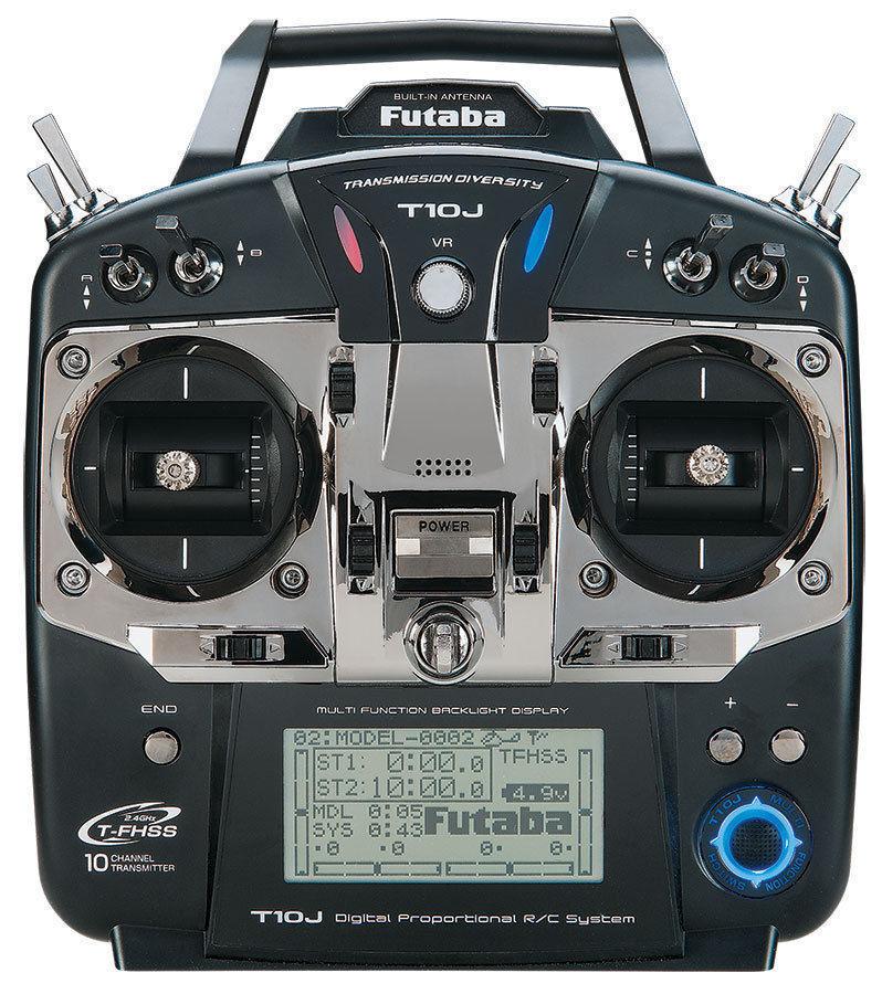 Compra calidad 100% autentica Futaba 10J 2.4GHz T-espectro ensanchado de salto de frecuenciaS-FHSS frecuenciaS-FHSS frecuenciaS-FHSS radio 2.4G sistema Multicopter modo 2  Hay más marcas de productos de alta calidad.
