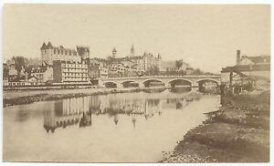 Pau France Vintage Albumine Ca 1875 Petit Format 5,5x9cm