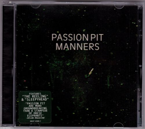1 of 1 - Passion Pit - Manners - CD (Columbia French Kiss)