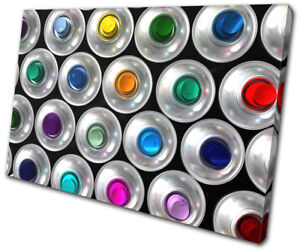 Details about Spray Paint Cans Banksy Abstract Graffiti SINGLE CANVAS WALL  ART Picture Print
