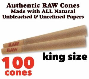 RAW-Classic-King-Size-Authentic-Pre-Rolled-Cones-with-Filter-100-Pack