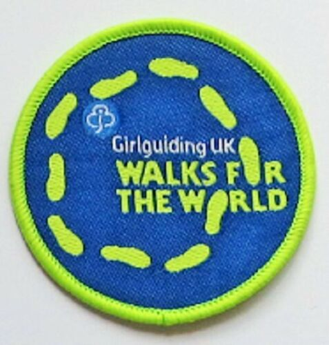 New Girl Guide Badge Girlguiding UK Walks for the World