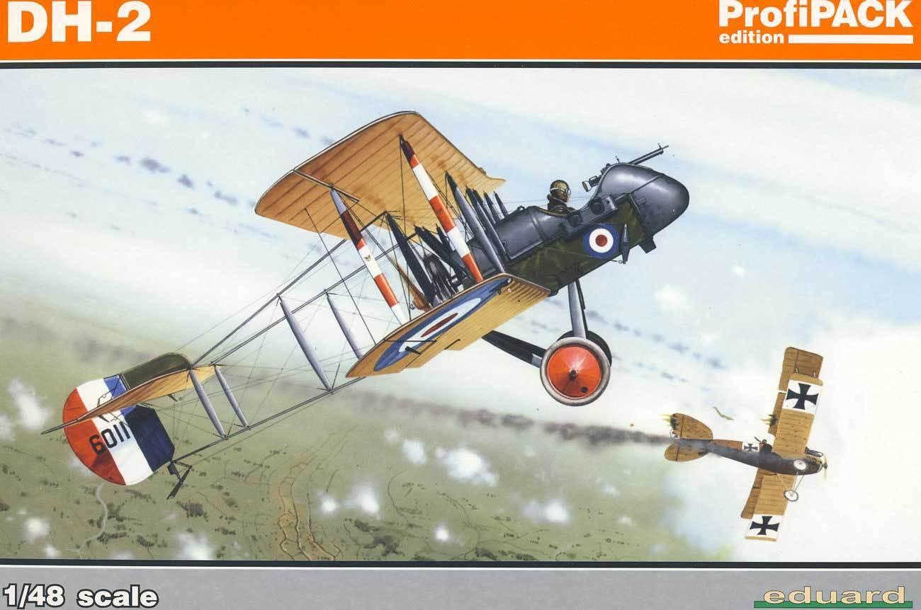 Eduard Airco Dh -2 Geoffrey de Haviland Pieces Grav Grav 65533;rough 65533;es Eyckmask 1 48