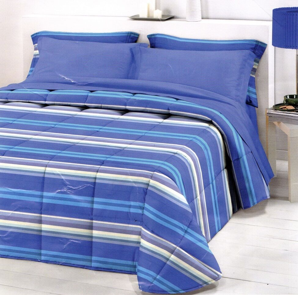 Quilt, winter duvet 350 gr. CO BER, NIGHT TIME, Anubis. Single, single