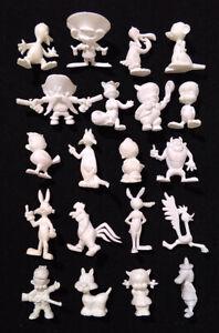 20-Raro-Conjunto-Completo-Looney-Tunes-Dunkin-figuras-ola-KAUGUMMIFIGUREN-anos-60