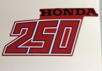 1981 1982 Honda Atc250r Decal Tank And Fender Set Atc 250r