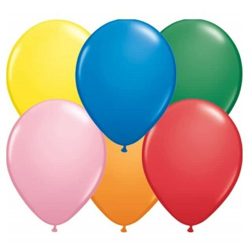 Party Decorations Round Helium Quality Latex Balloons 30 Colours 8 Sizes