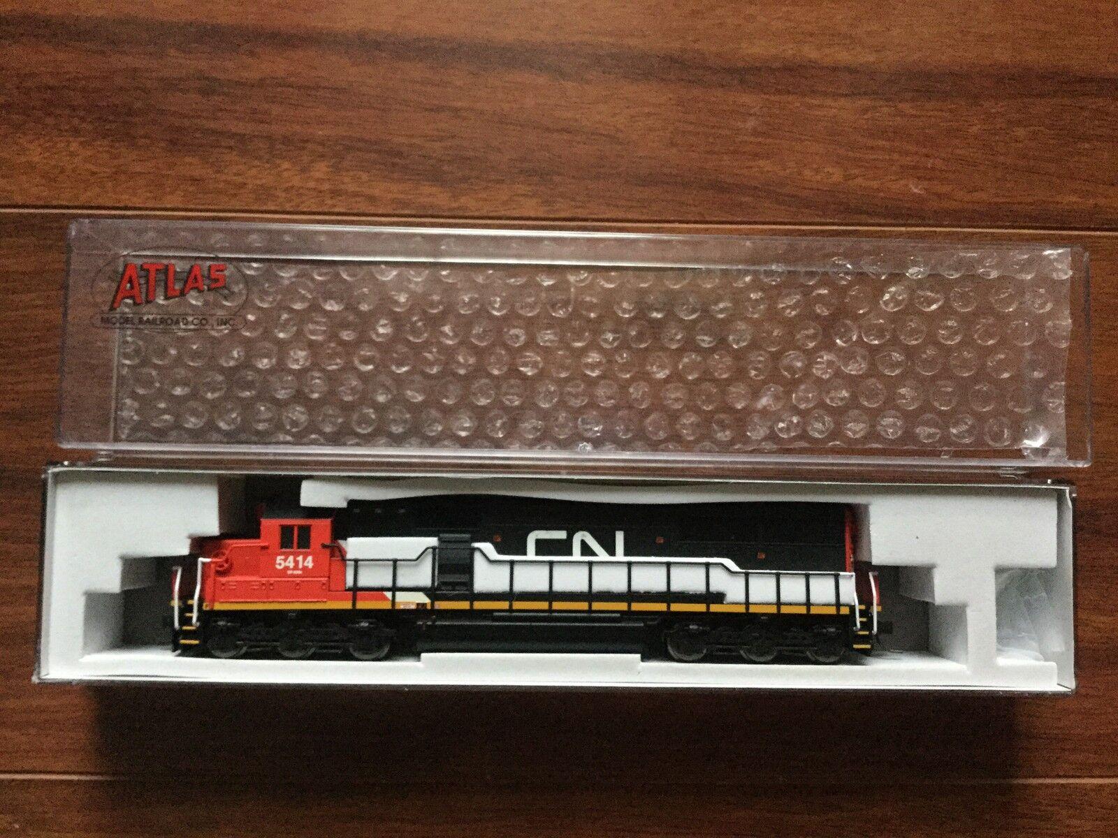 アトラス1 / 160 NスケールSD - 60カナダナショナルRD