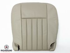 03 04 Lincoln Navigator -Driver Bottom Replacement Perforated Leather Seat TAN