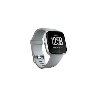 Fitbit Versa Fitness Watch, Gray/Silver Aluminum #FB504SRGY