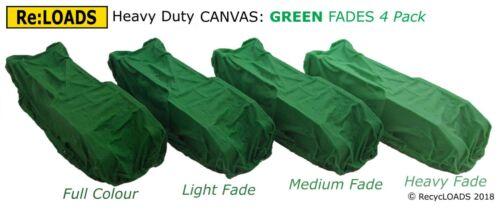 HO OO Scale GREEN Tarped Covered Sheeted Model Road /& Railway Machinery Load