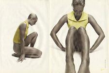 Publicité 2000 (double page)  NIKE sport  pret à porter mode collection vetement