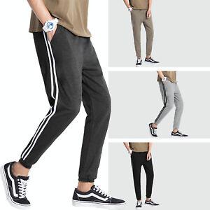 CA Mens Joggers Pants Hip Hop Elastic Casual Jogger Slim Fit Stretch Trousers