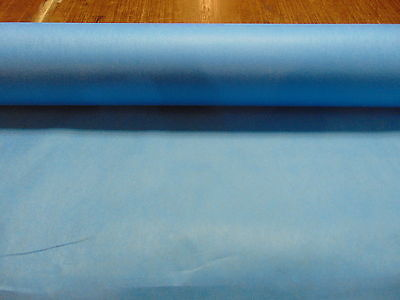 "Medium/Heavy Weight Non Fusible Blue Interfacing 60"" Wide - Sold by the 5 yards"